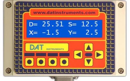 JET SDP, DAT instruments, datalogger, display