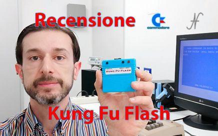 Kung Fu Flash, Commodore 64, interfaccia, microSD, Kim Jorgensen, GitHub, CRT, PRG, D64, D71, D81, immagini dischi, emulatore