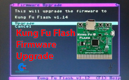 Kung Fu Flash, Commodore 64, interfaccia, microSD, Kim Jorgensen, GitHub, firmware upgrade update, cartuccia, ROM file CRT, porta di espansione
