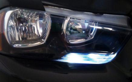 LED automobile, Dodge Charger, lucedi posizione, freccia LED
