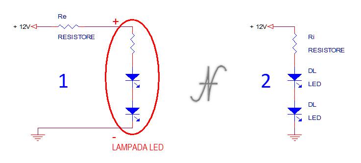 Lampada a LED, luci di posizione, ridurre luminosità, abbassare intensità