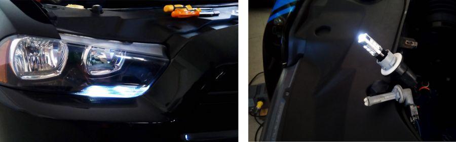 Dodge Charger, freccia a LED, luce di posizione, errore canbus, modifica EU