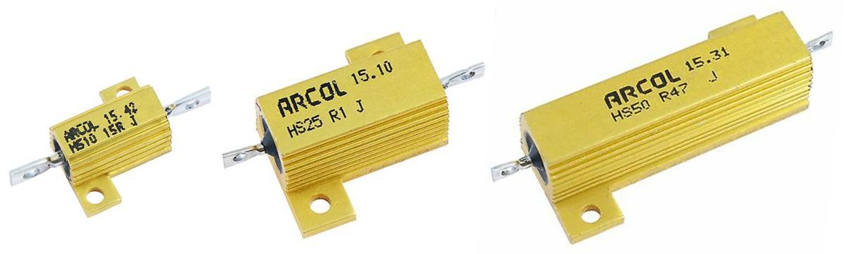 Resistori 50W 25W 10W per lampadine a LED, errori canbus, errori centralina, frecce led