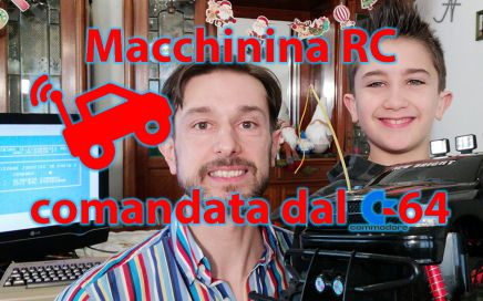 Macchinina telecomandata dal Commodore 64 radiocomandata RC, user port, Dodge RAM