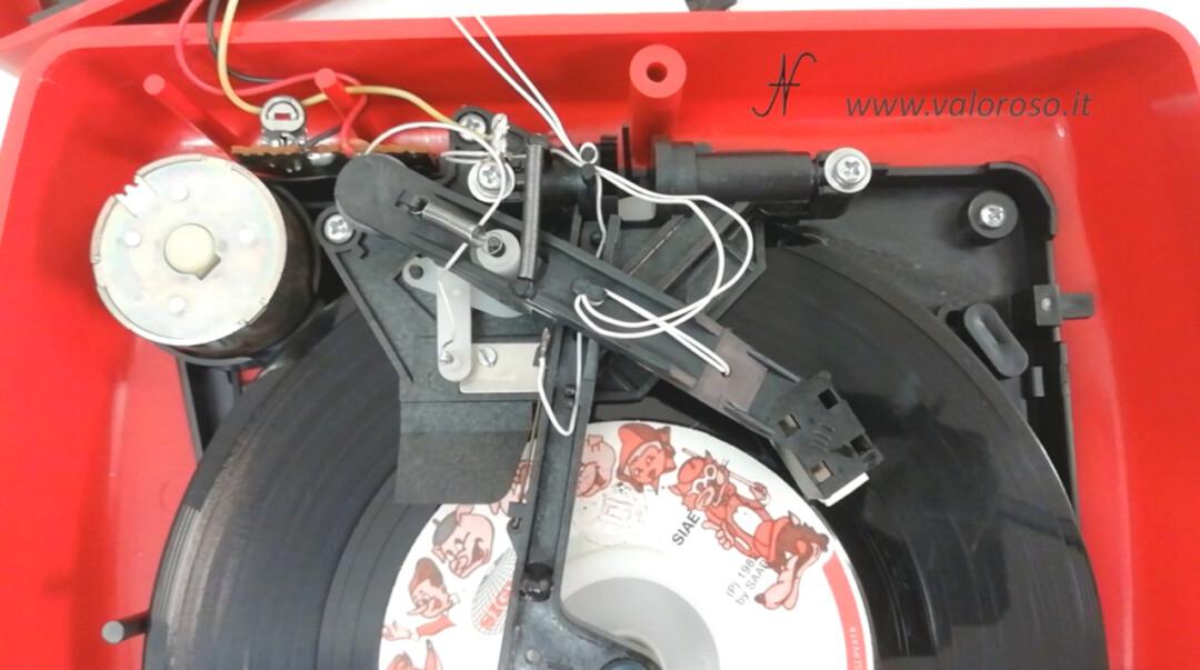 Mangiadischi Penny MusicalNastro MusicalSound centratore motore disco puntina testina cinghia piatto