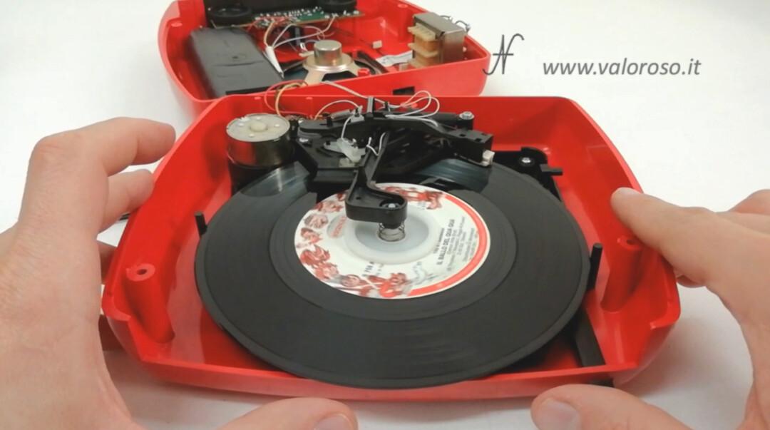 Mangiadischi Penny MusicalNastro MusicalSound inserire disco 45 giri meccanismo