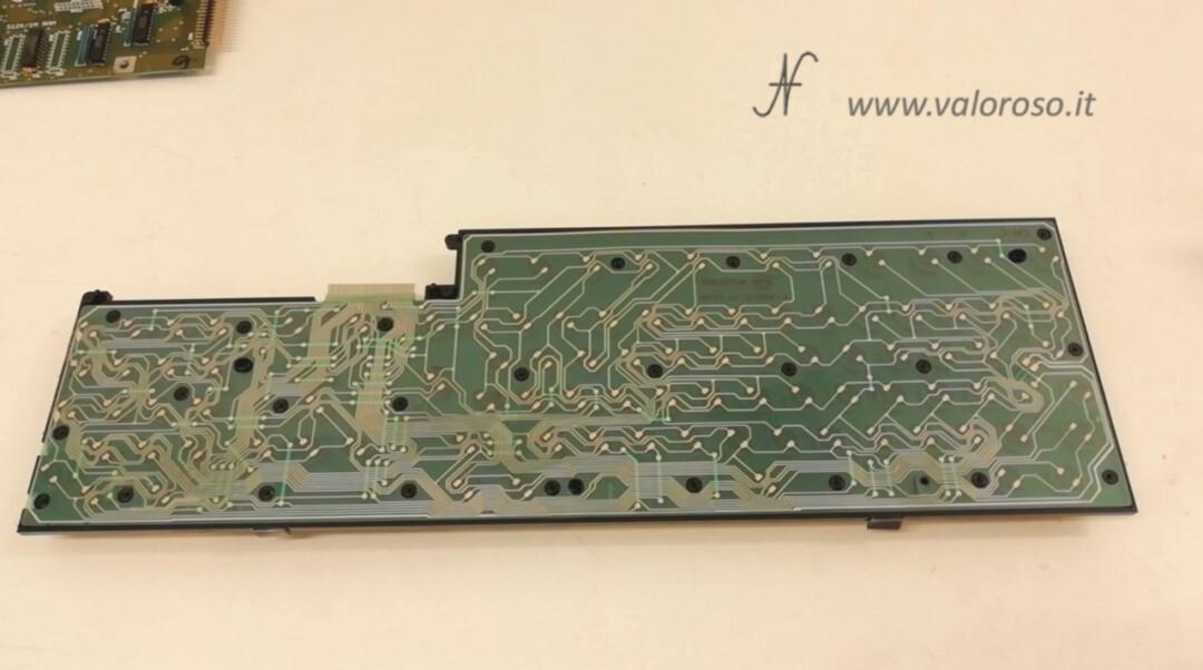 Inner membrane keyboard Amiga 500 A619B, flexible molded, plastic foil