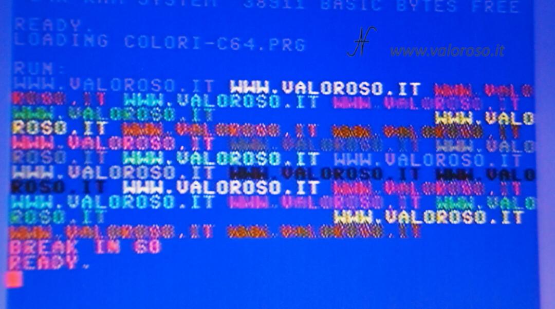 Migliorare la qualità video immagine del Commodore 64 e 16 sulle TV LCD, cavo video composito scarsa qualita CVBS