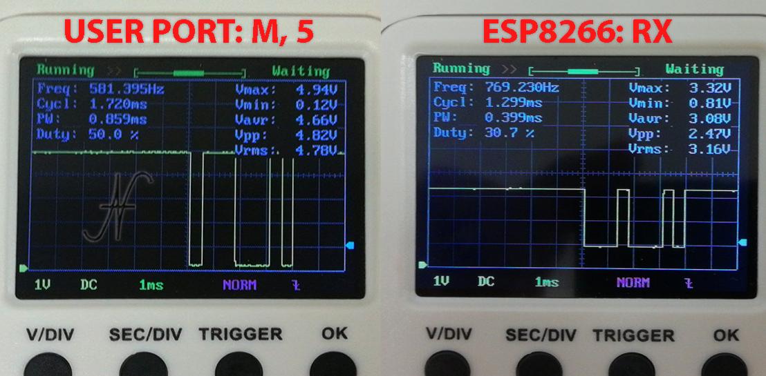 Modifica modem WiFi Commodore 64, NodeMCU, ESP8266, 5V non è 3V3 3.3V tolerant, segnali