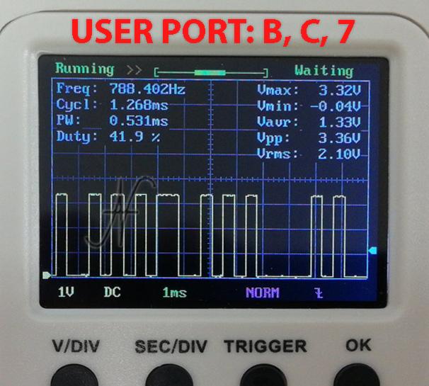 Modifica modem WiFi Commodore 64, NodeMCU esp8266, segnali pin TX