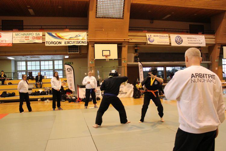 NIA Nunchaku International Academy, Marc Bremart, Combattimento