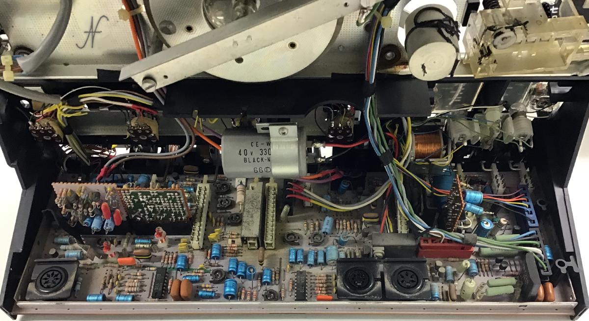 Philips N4504, Aristona EW5504, scheda elettronica interna impolverata