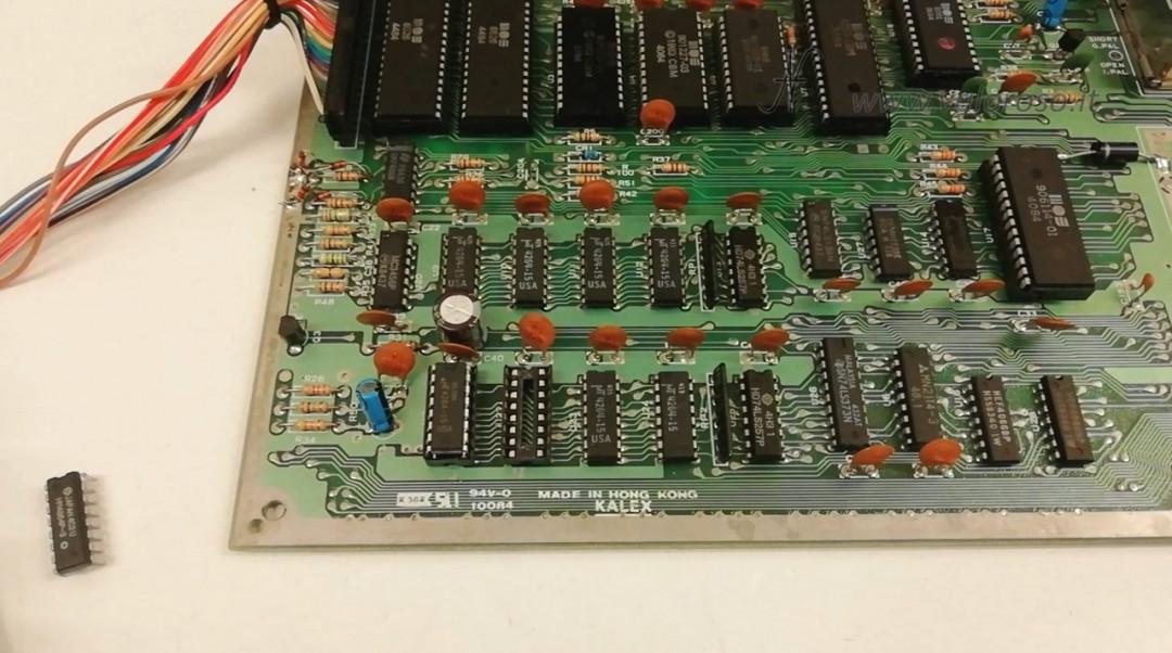 Test RAM del Commodore 64 con Kung Fu Flash 4164, MT4264, HM4864P memoria zoccolo sostituzione