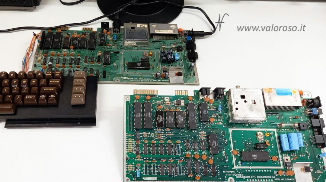 Prova memoria Commodore 64 con Kung Fu Flash 586220 4164, MT4264, HM4864P, M3764 150ns 200ns