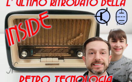 Radio a valvole Telefunken Mignonette MF R210, URRT, Rubrica: L'Ultimo Ritrovato Della Retro Tecnologia RetroTecnologia, Amedeo Valoroso, Leonardo Valoroso