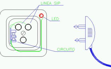 SPTEL, rilevatore linea telefonica SIP impegnata, montaggio, Amedeo Valoroso, busy telephone line indicator
