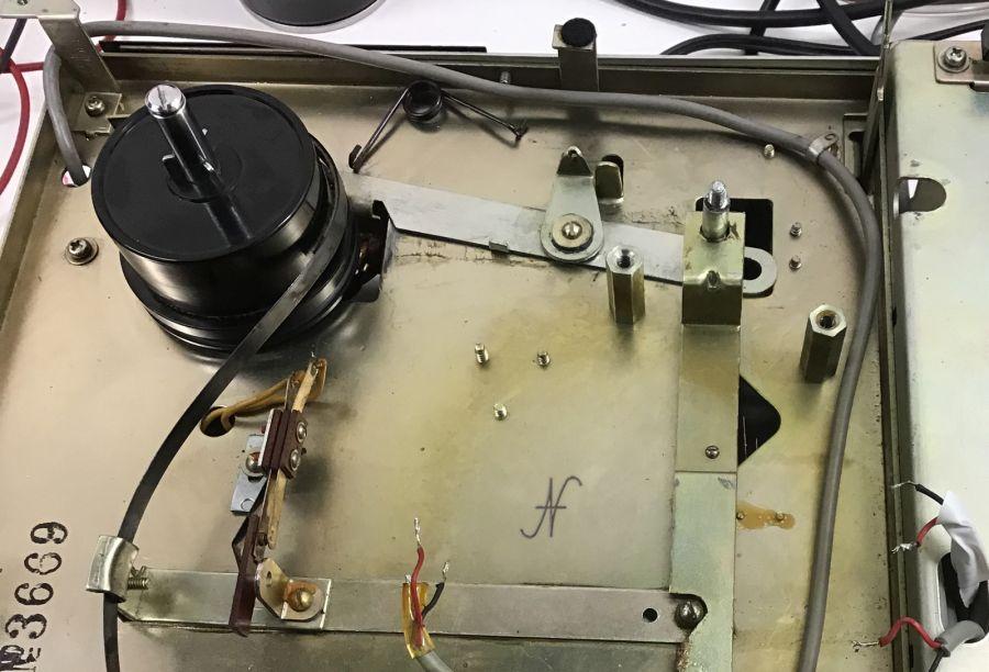 Sanyo MR-909 registratore a bobine, freno, avanzamento veloce, fast forward