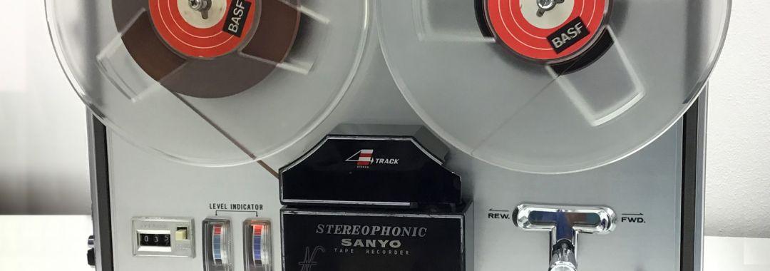 Sanyo MR-909, registratore a nastro, magnetofono