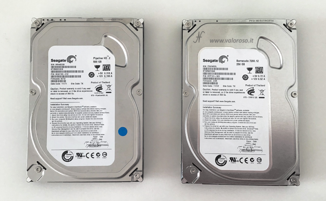 Spazi di Archiviazione, Windows 10, mirroring hard disk SATA, senza controller RAID