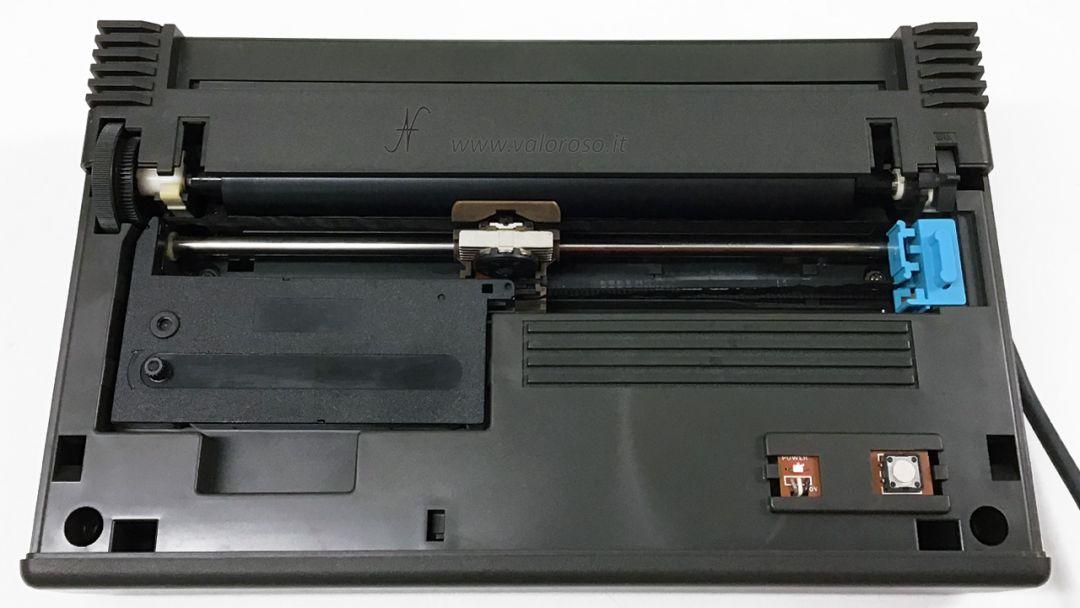Stampante Commodore MPS 803, stampante ad aghi, rimontare rotolo inchiostro, stampante vintage