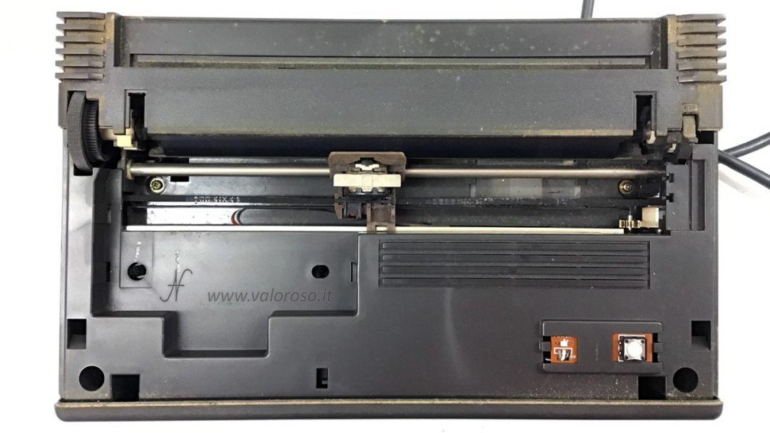 Stampante Commodore MPS803, stampante ad aghi, interno, riparazione, pulizia, togliere polvere, sporca