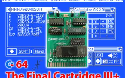The Final Cartridge III Plus cartuccia interfaccia espansione Commodore 64