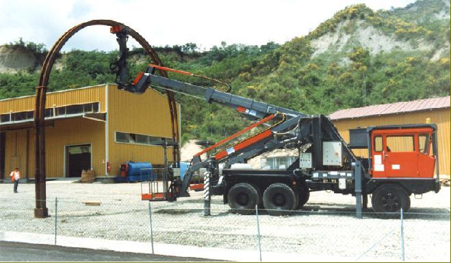 3CTR, sistema di controllo completo per sollevatori per gallerie, posacentine, ITALMEC