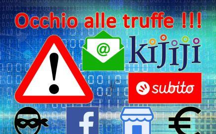 Truffa Subito Kijiji Facebook Marketplace, eMail, banche, phishing, malware, ransomware, come proteggersi, evitare, attenzione