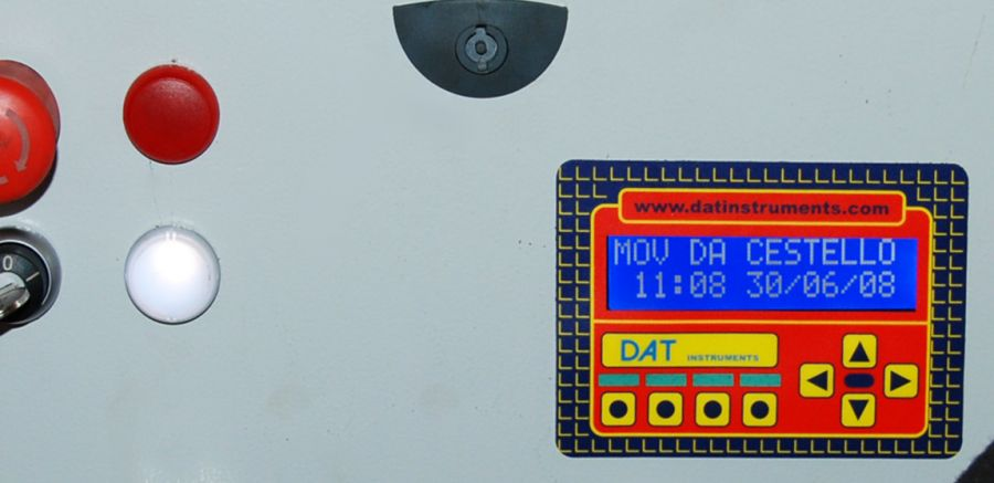 DAT X2, tunneling lifters, tunneling lifter control panel, DAT instruments, Amedeo Valoroso