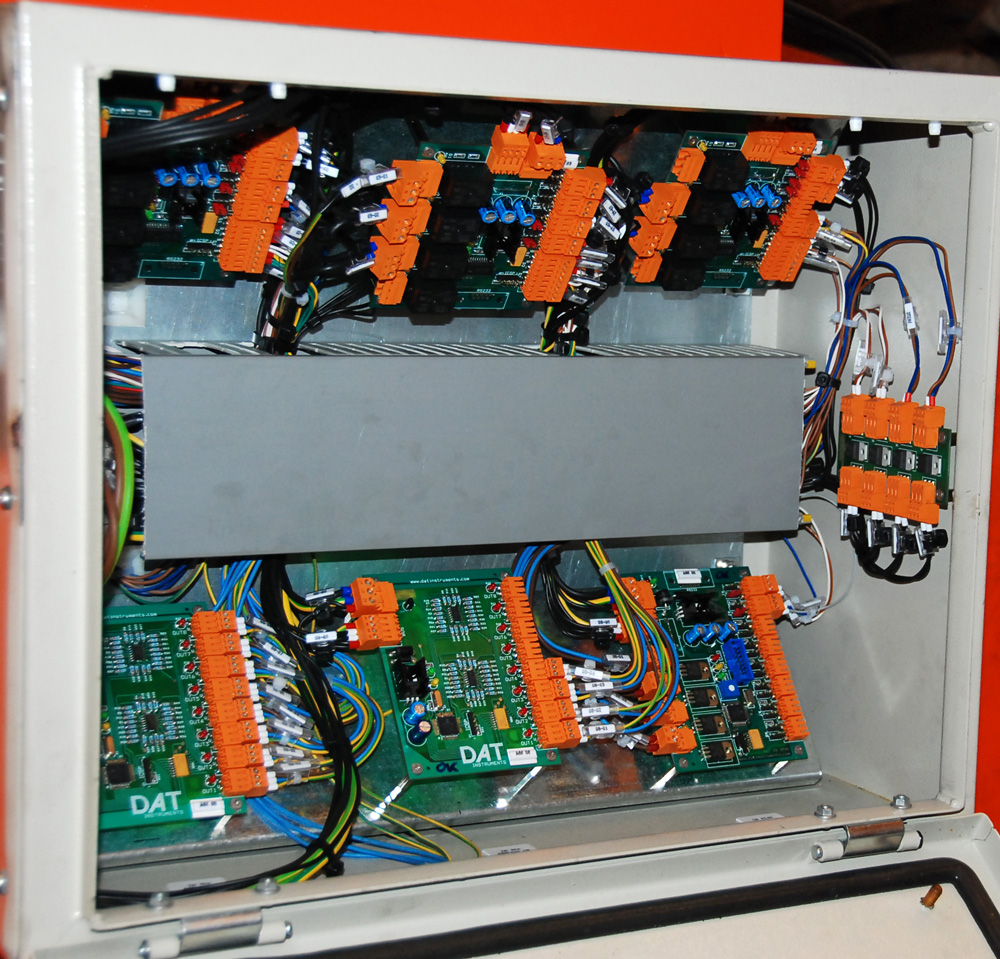 DAT X2, Tunnelling lifter control panel, solenoid valves, DAT instruments, Amedeo Valoroso