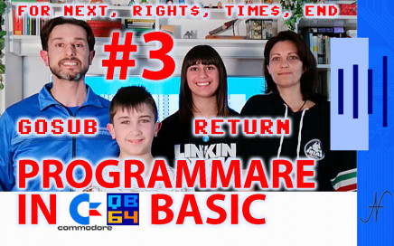 Tutorial di programmazione in Basic QB64 Commodore programma fitness