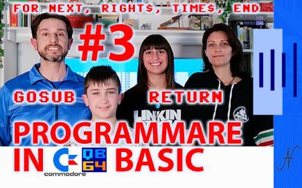 Tutorial di programmazione in Basic QB64 Commodore programma fitness