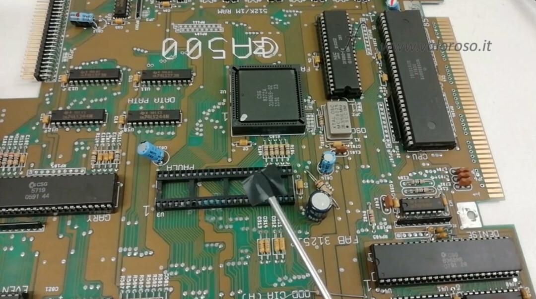 Tutorial dissaldatura ZD 8915 stazione dissaldante dissaldatore rimuovere uno zoccolo integrato chip leva plastica