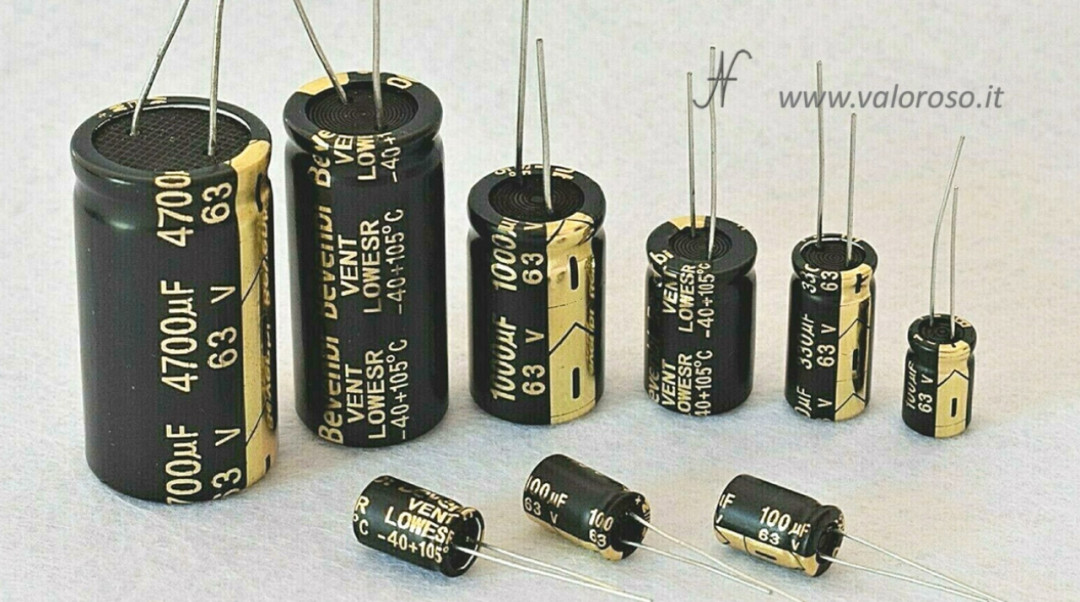 Tutorial saldatura circuito elettronico, montare condensatori elettrolitici polarizzati