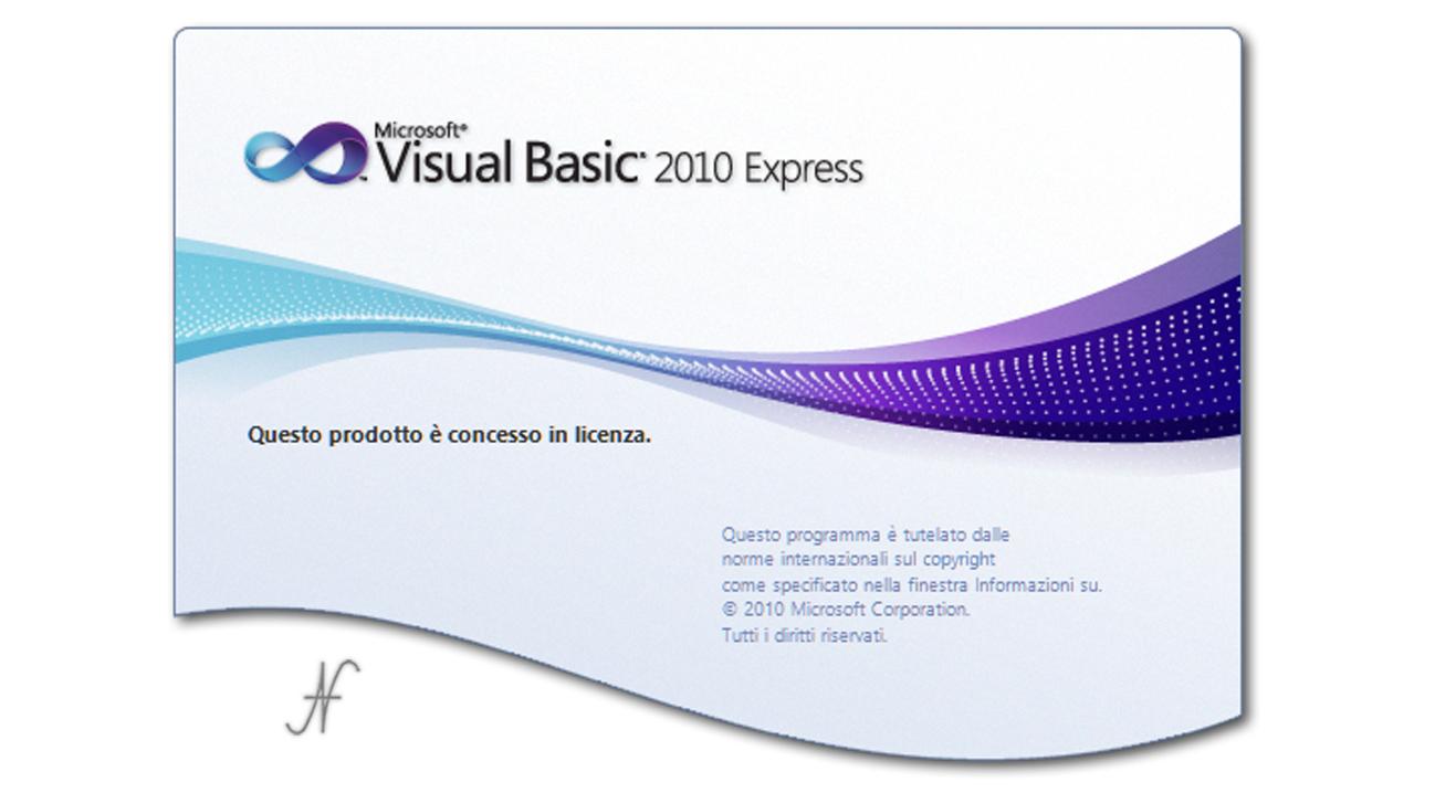 VB.NET Visual Basic 2010 Express, download, installare, imparare a programmare, gratuito