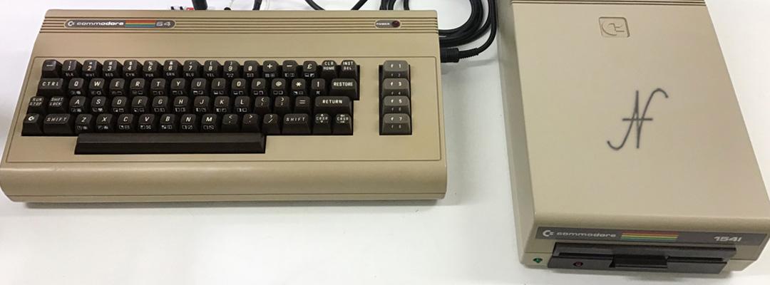 ValorosoIT Commodore 64 C64 retro computer Commodore 1541 floppy disk drive