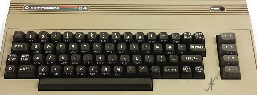 ValorosoIT Commodore 64 C64 retro computer vintage pc anni 80