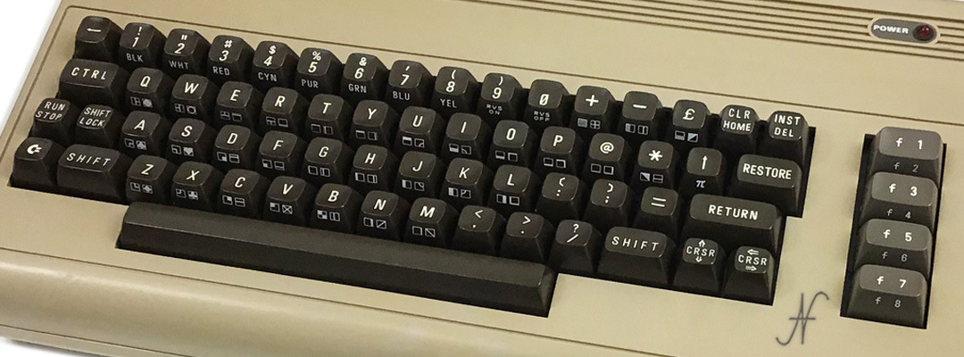 ValorosoIT Commodore 64 C64 retro computer vintage pc anni 80s