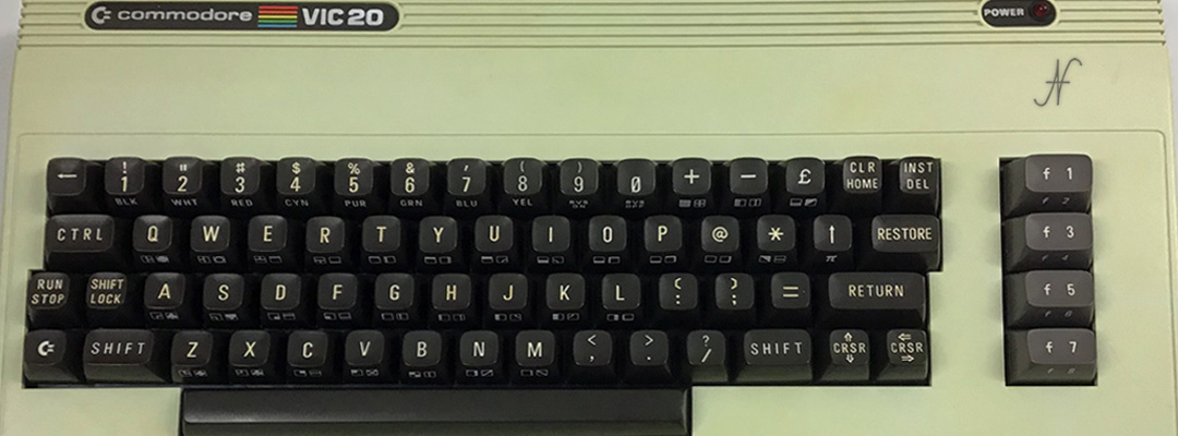 ValorosoIT Commodore Vic20 Vic-20 keyboard retro computer
