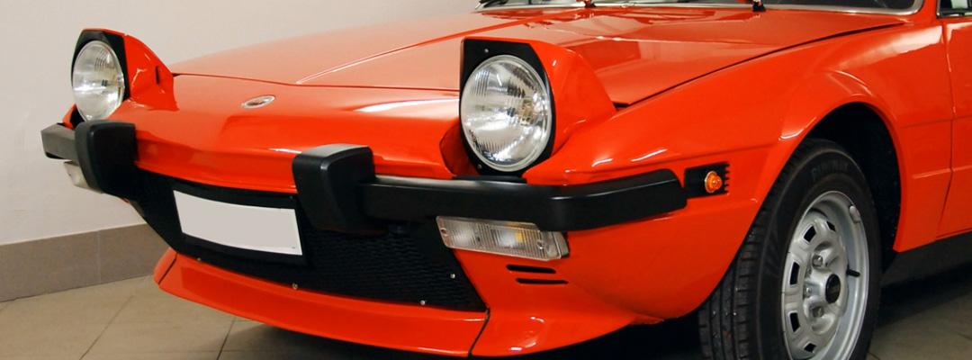 ValorosoIT Fiat Bertone X19 X1-9 X1/9 automobile macchina d'epoca