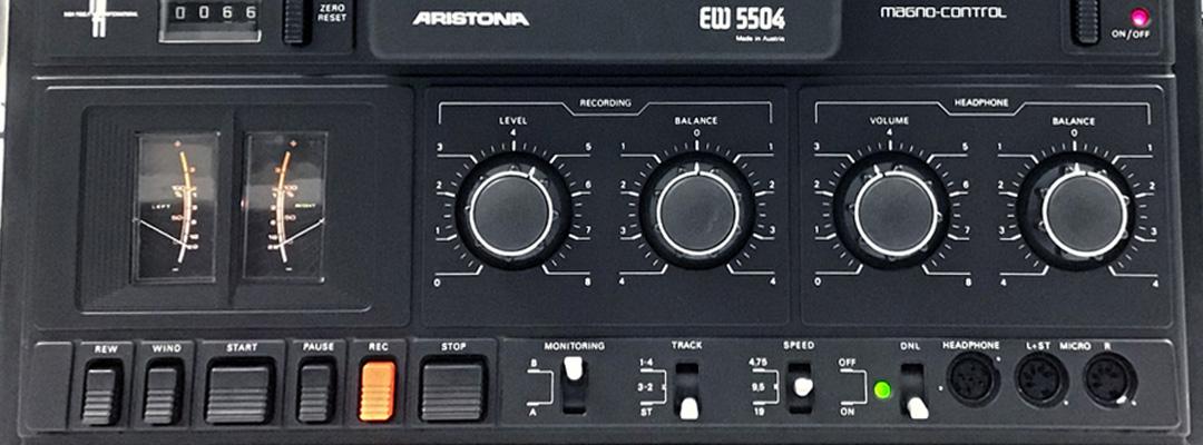 ValorosoIT Philips N4504 Aristona EW5504 registratore bobine open reel manopole