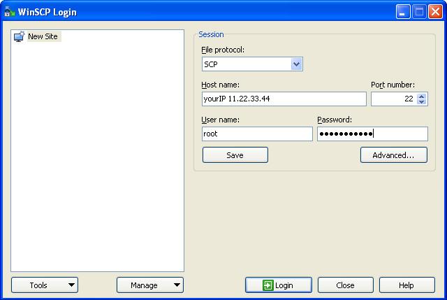 WinSCP, SSH, SCP, Linux, CentOS, browse folders, edit files, root access configuration